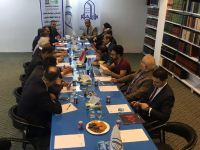 ورشة محاضرات ومناقشات حول التراث المادي وغير المادي في العراق