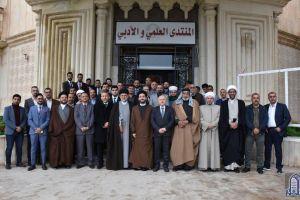 سفراء النجف للمواطنة والعيش المشترك يزورون الموصل