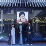 مدير معهد القرآن الكريم يزور دار العلم للإمام الخوئي